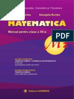 Manual Matematica cls a XII-a.pdf