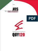 Specification of FUSHUN120-FIN