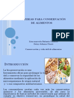 Bacterias Para Conservación de Alimentos Exposicion