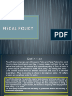 Fiscal Policy (1)