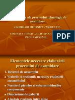 Dateini_ialealeprocesului Tehnologic de Asamblare
