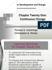 Organizationa Development and Change