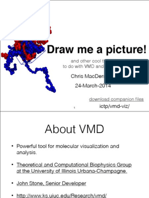 VMD Visualization Scripting TopoTools | Molecules | Proteins