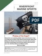 Riverfront Marine Sports Newsletter; March 2018