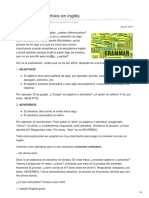 Lawebdelingles.com-Adjetivos y Adverbios en Inglés