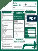 1121 Radiology Surgery Checklist A4