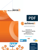 Resolv Desktop & Mobility - SAP B1 9.2