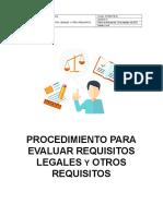 SSOMA-PG-02 Requisitos Legales y Otros Requisitos
