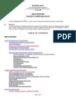 Patient Prep Manual