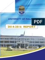 University of Malawi Report 2014-2016