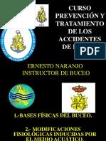 Curso Prevención y Tratamiento de Los Accidentes de Buceo