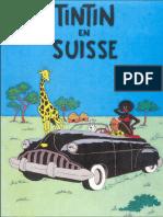 Tintin en Suisse - Couverture 2