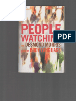 Peoplewatching - the Desmond Morris Guide to Body Language - Desmond Morris