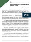 Criticas y Propuestas Contemporaneas a Enfoques Clasicos Del Psicoanalisis Individual y Grupal