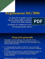 Timpi Conducere - Regulament 561