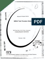 M60A3 Tank Procedure Guides