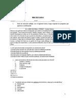 Mini Test Guía 4