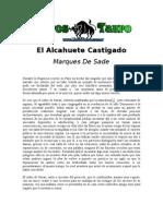 Sade, Marqués de - El Alcahuete Castigado