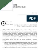 OAB - 2017 -Questoes Comentadas - Administrativo