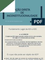 Ação Direta de Inconstitucionalidade - p Alunos