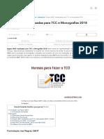Regras ABNT Atualizadas Para TCC e Monografias 2018 - MundodasTribos – Todas as Tribos Em Um Único Lugar