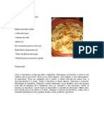 Bacalhau Forno Esp