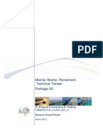 Marine Works Technical Tender Package 2