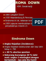 3. Down Syndrome