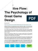 Sean Baron, Cognitive Flow_The Psychology of Great Game Design, 2012