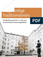 Fragwürdige Traditionslinien