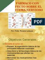 #2 -B Farmacológia Con Efecto Sobre Sistema Nervioso