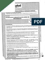 20180319 Cuadernillo Examen Modelo a Aux Enfermeria