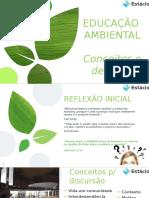 Apresentação faculdade Estácio - Educação Ambiental