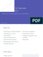 MicrosoftTeams Planning Workshop