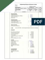 Design Load Calculation