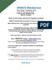 World Wide Association of Treasure Seekers annual Treasure Hunt in Colorado