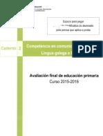 Proba Lingua Galega e Literatura 02