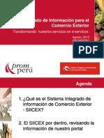 Presentacion SIICEX 110810