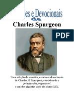 Charles Haddon Spurgeon - Sermões Devocionais.pdf
