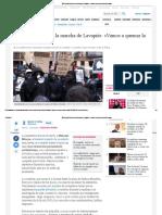 Mitin de los Antisistema en La Marcha de Lavapiés_ «Vamos a Quemar La Puta Ciudad»