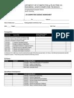 Worksheet Mscs