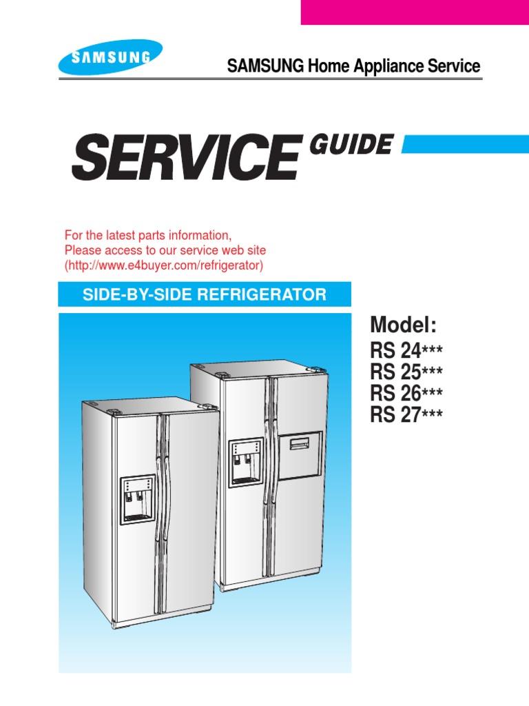 cdd118677-REFRI RS27KLMR   Refrigerator   Engineering
