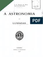 A Astronomia Dos Lusiadas