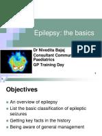 Dr Nivedita Bajaj - Basic Facts About Childhood Epilepsy