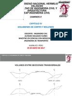 CLASE 04.1 y 4.2 VOLUMENES DE CORTES Y RELLENOS.pptx