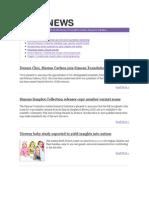 SFARI News - August 2010