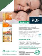 Poster Geburtshilfe A3 Selbstausdruck