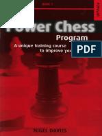 Davies, Nigel - The Power Chess Program 1