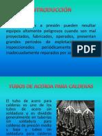 Soldadura de Tubos y Recipientes a Presion