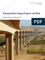 Dr.S Assig for Finance Transportation Mega Projects and Risk Reason Foundation